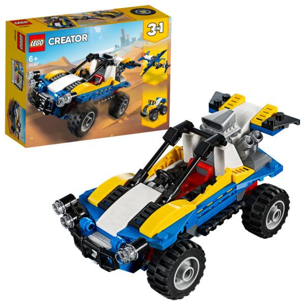 31087 - Dune Buggy - Lego Creator - Toys Center LEGO CREATOR Unisex 12+ Anni, 5-8 Anni, 8-12 Anni ALTRI