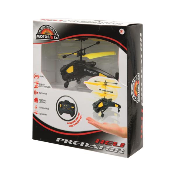 MOTOR&CO Elicottero a infrarossi Heli predator MOTOR&CO Maschio 12+ Anni, 5-8 Anni, 8-12 Anni ALTRI