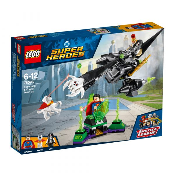 76096 - L'alleanza tra Superman™ e Krypto™ - Lego Super Heroes - Toys Center - LEGO SUPER HEROES - Costruzioni