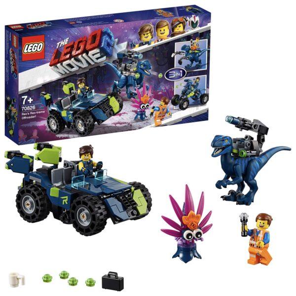 70826 - Il fuoristrada Rex-tremo di Rex! - The LEGO Movie 2 - LEGO - Marche ALTRO Unisex 12+ Anni, 5-8 Anni, 8-12 Anni THE LEGO MOVIE 2