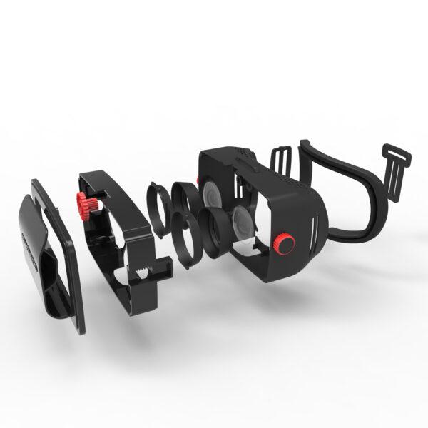 ALTRO ALTRI HOMIDO Visore Realtà Virtuale 360° 3D Unisex