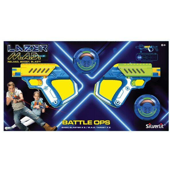 LAZER MAD DUAL KIT 55,8X30,5X6,4 cm - ALTRO - Giochi di emulazione