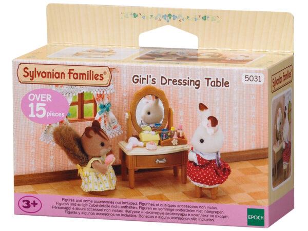 Tavolino beauty e sgabello SYLVANIAN FAMILIES Femmina 12-36 Mesi, 3-4 Anni, 3-5 Anni, 5-7 Anni, 5-8 Anni, 8-12 Anni ALTRI