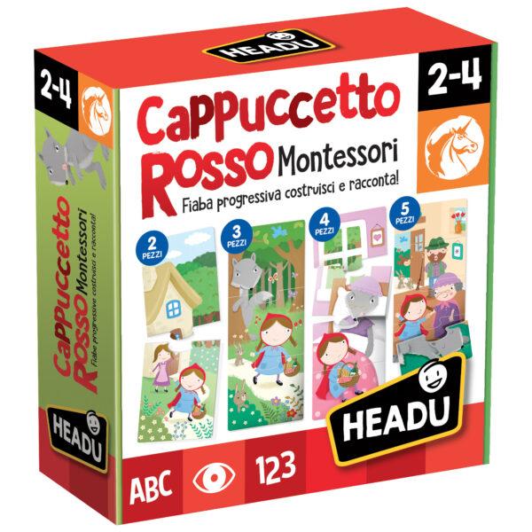 Cappuccetto Rosso Montessori ALTRO Unisex 12-36 Mesi, 3-5 Anni ALTRI