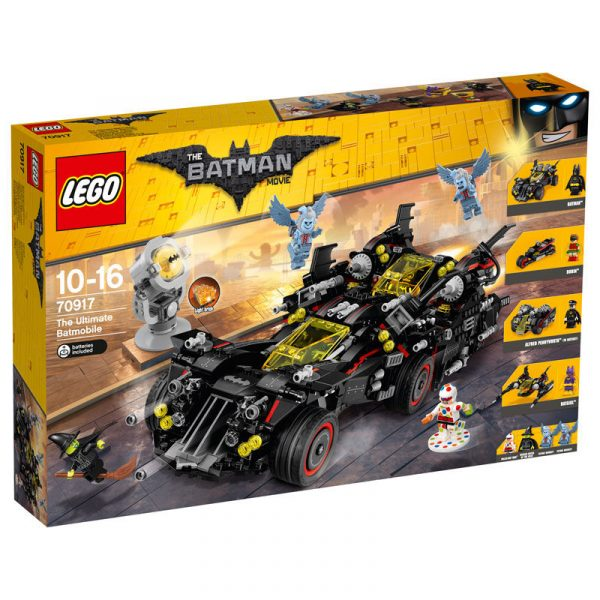 70917 - Ultimate Batmobile DC COMICS Maschio 12+ Anni, 8-12 Anni BATMAN