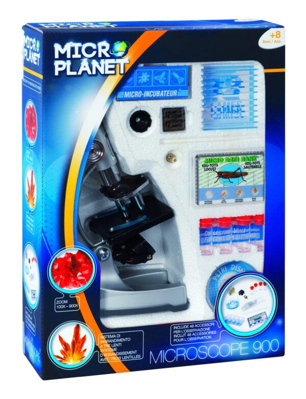 MICROPLANET ALTRI MICROSCOPIO 900 + TELESCOPIO Unisex 12+ Anni, 5-7 Anni, 5-8 Anni, 8-12 Anni
