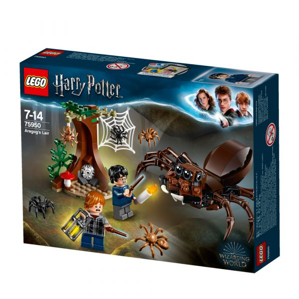 75950 - Harry Potter - Il covo di Aragog - Warner Bros. - Toys Center LEGO® Harry Potter™, WARNER BROS. Unisex 12+ Anni, 5-8 Anni, 8-12 Anni HARRY POTTER