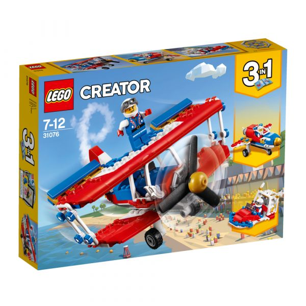 31076 - Biplano acrobatico - Lego Creator - Toys Center LEGO CREATOR Maschio 12+ Anni, 5-8 Anni, 8-12 Anni ALTRI