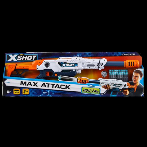 FUCILE X-SHOT MAX ATTACK ALTRI Maschio 12+ Anni, 5-8 Anni, 8-12 Anni SUN&SPORT