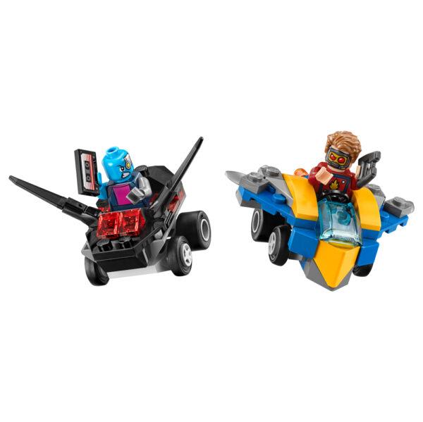 LEGO SUPER HEROES ALTRI 76090 - Mighty Micros: Star-Lord contro Nebula Maschio 12+ Anni, 3-5 Anni, 5-8 Anni, 8-12 Anni