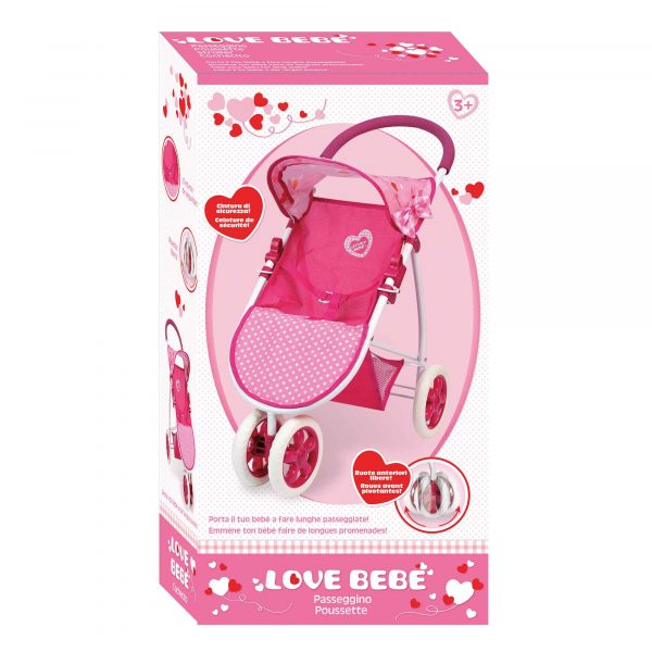 LOVE BEBÈ PASSEGGINO TRE RUOTE - Linee - LOVE BEBÈ - Fino al -30%