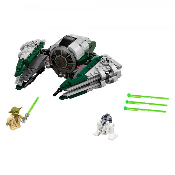 Disney Star Wars 75168 - Jedi Starfighter™ di Yoda - Disney - Toys Center Maschio 8-12 Anni