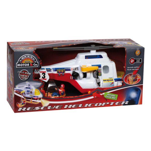 ELICOTTERO SOCCORSO - Giocattoli Toys Center - MOTOR&CO - Veicoli giocattolo a batteria
