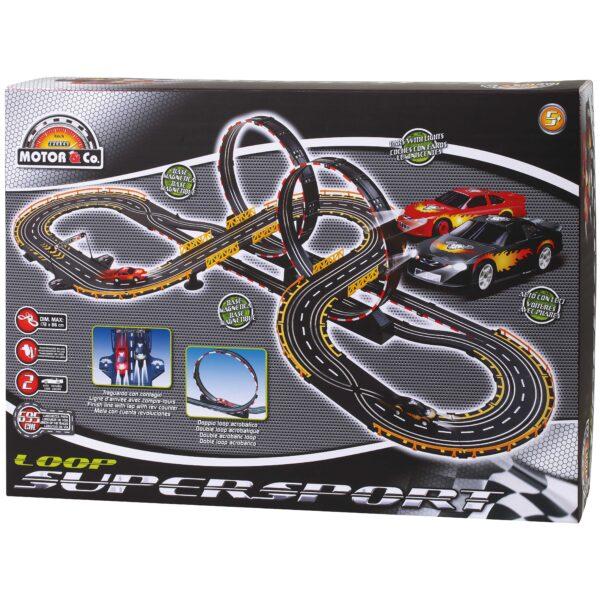 PISTA ELETTRICA SUPERSPORT - Motor&co - Toys Center MOTOR&CO Maschio 12-36 Mesi, 3-5 Anni, 5-8 Anni, 8-12 Anni ALTRI