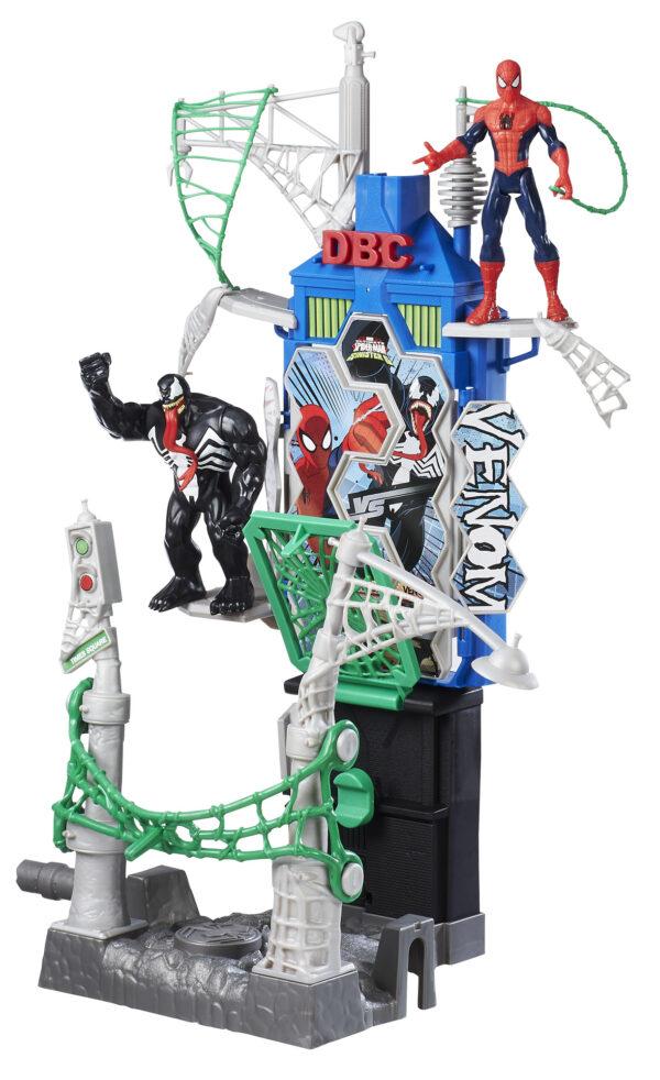 Marvel Spiderman Web City Daily Batt Playset Maschio 3-4 Anni, 3-5 Anni, 5-7 Anni, 5-8 Anni, 8-12 Anni