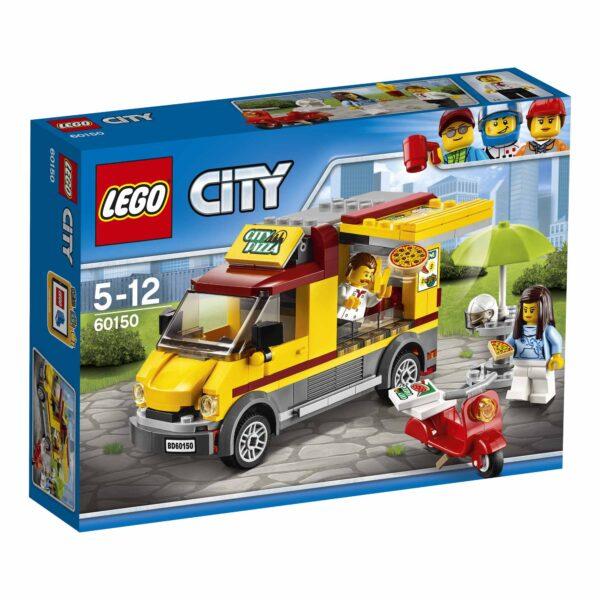 60150 - Furgone delle pizze - Lego City - Toys Center - LEGO CITY - Costruzioni