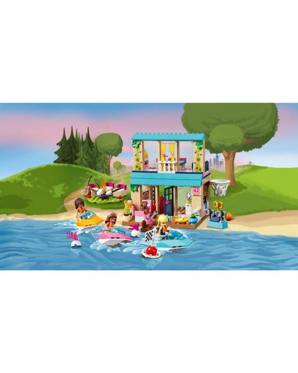 ALTRI LEGO JUNIORS Unisex 3-5 Anni, 5-8 Anni 10763 - La casa sul lago di Stephanie - Lego Juniors - Toys Center