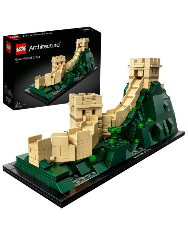 LEGO ARCHITECTURE ALTRI 21041 - Grande Muraglia cinese - Lego Architecture - Toys Center Unisex 12+ Anni, 8-12 Anni