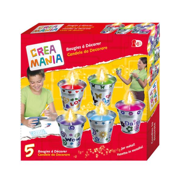 CREAMANIA Crea le candele CREAMANIA GIRL Unisex 5-8 Anni, 8-12 Anni ALTRI