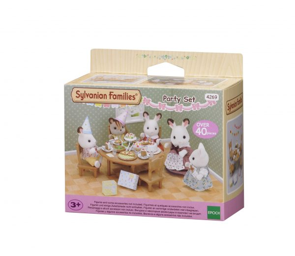 Set party in casa - SYLVANIAN FAMILIES - Fino al -20%