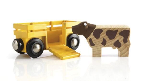 BRIO mucca e vagone - BRIO - Fino al -20%