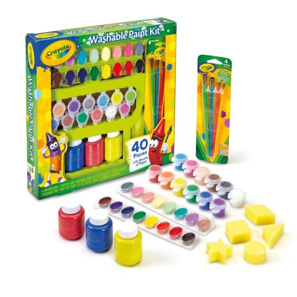 Set pittura Crayola - Altro - Toys Center ALTRI Unisex 12-36 Mesi, 3-5 Anni, 5-8 Anni, 8-12 Anni CRAYOLA