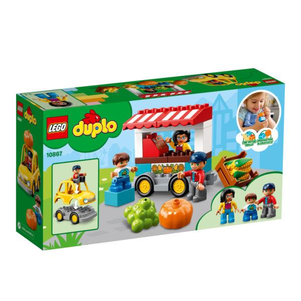 10867 - Il mercatino biologico - Lego Duplo - Toys Center LEGO DUPLO Unisex 12-36 Mesi, 3-5 Anni, 5-8 Anni ALTRI