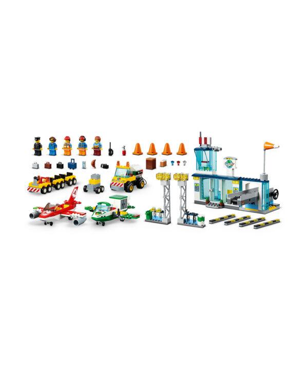 10764 - Aeroporto di città - Lego Juniors - Toys Center ALTRI Unisex 3-5 Anni, 5-8 Anni LEGO JUNIORS