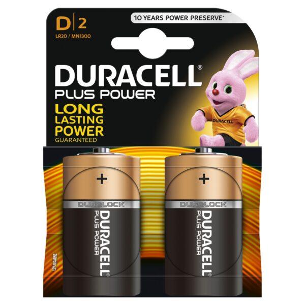 DURACELL PLUS POWER D B2 - 12+ Anni - Età ALTRO Unisex 0-12 Mesi, 12-36 Mesi, 12+ Anni, 3-5 Anni, 5-8 Anni, 8-12 Anni ALTRI