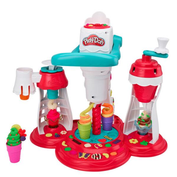 Play-Doh – La Fabbrica dei gelati ALTRI Unisex 12-36 Mesi, 12+ Anni, 3-5 Anni, 5-8 Anni, 8-12 Anni PLAY-DOH