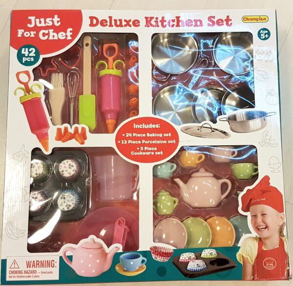 DELUXE KITCHEN SET - Superstar - Toys Center - SUPERSTAR - Cucine giocattolo e accessori