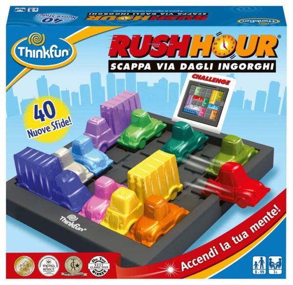 Rush Hour - ThinkFun - Thinkfun - Toys Center THINKFUN Unisex 12+ Anni, 5-8 Anni, 8-12 Anni ALTRI