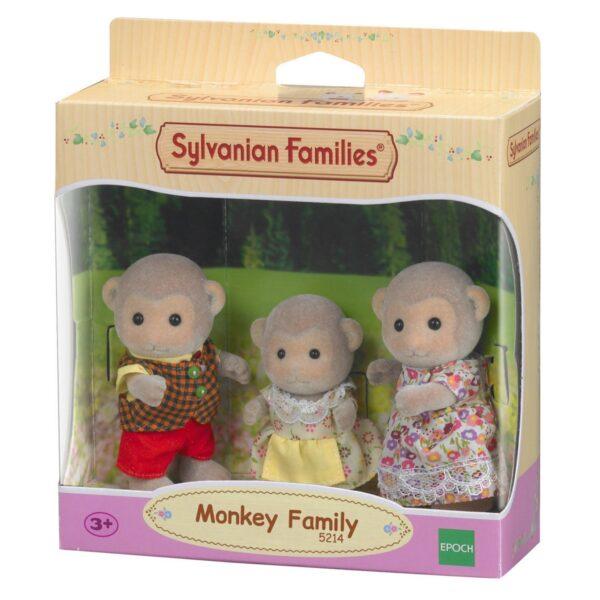 Sylvanian Families - Famiglia Scimmie SYLVANIAN FAMILIES Femmina 12-36 Mesi, 3-4 Anni, 3-5 Anni, 5-7 Anni, 5-8 Anni, 8-12 Anni ALTRI