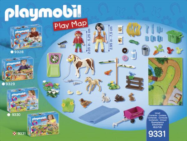 PLAY MAP - PASSEGGIATA A CAVALLO ALTRI Femmina 12+ Anni, 3-5 Anni, 5-8 Anni, 8-12 Anni PLAYMOBIL - PLAY MAP
