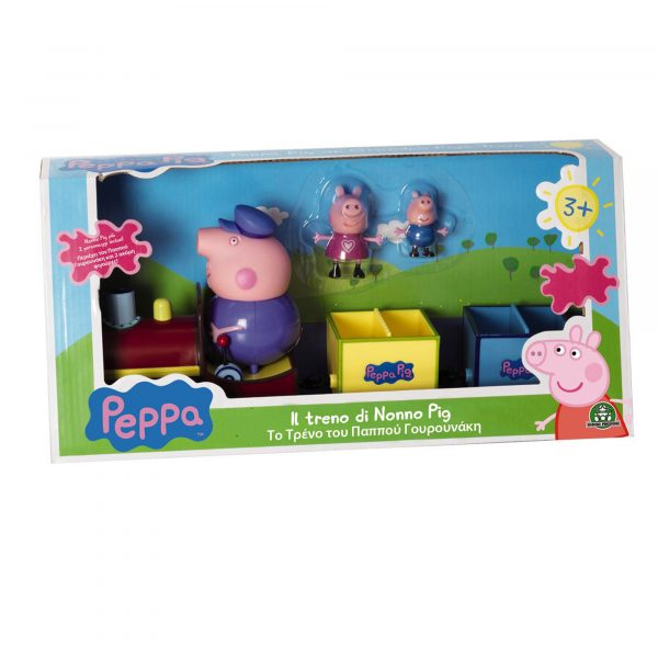 Giochi Preziosi  - Peppa Pig. Il treno di Nonno Pig PEPPA PIG Unisex 12-36 Mesi, 3-4 Anni, 3-5 Anni, 5-7 Anni, 5-8 Anni ALTRO
