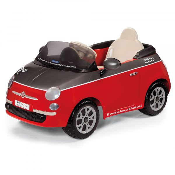 FIAT ROSSA/GRIGIA CON RAD. - Giocattoli Toys Center Peg Perego Maschio 0-12 Mesi, 12-36 Mesi, 3-5 Anni, 5-8 Anni ALTRI