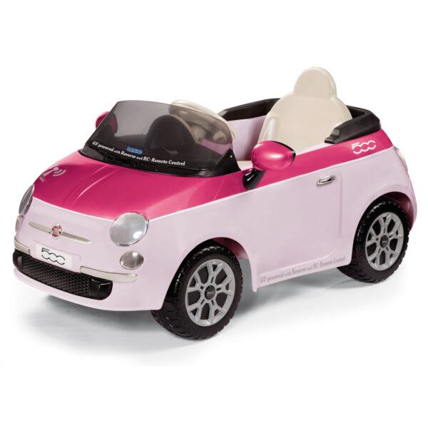FIAT ROSA/FUCSIA CON RAD. - Giocattoli Toys Center - Peg Perego - Estate