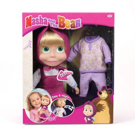 Masha bambola cm 34 giornonotte ALTRO Femmina 12-36 Mesi, 12+ Anni, 8-12 Anni Masha e Orso