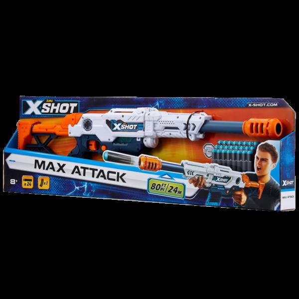 SUN&SPORT ALTRI FUCILE X-SHOT MAX ATTACK Maschio 12+ Anni, 5-8 Anni, 8-12 Anni