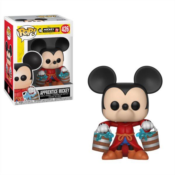 POP Disney: Mickey's 90th - Apprentice Mickey Disney Unisex 12-36 Mesi, 12+ Anni, 3-5 Anni, 5-8 Anni, 8-12 Anni TOPOLINO&CO.