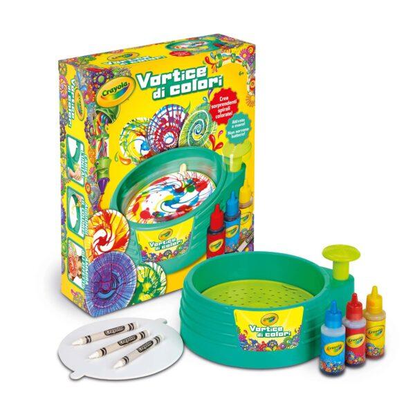 Vortice di Colori Crayola ALTRI Unisex 12+ Anni, 5-8 Anni, 8-12 Anni ALTRO