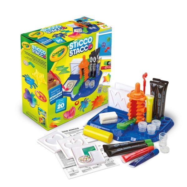 Sticco Stacco Crayola ALTRI Unisex 12+ Anni, 5-8 Anni, 8-12 Anni ALTRO
