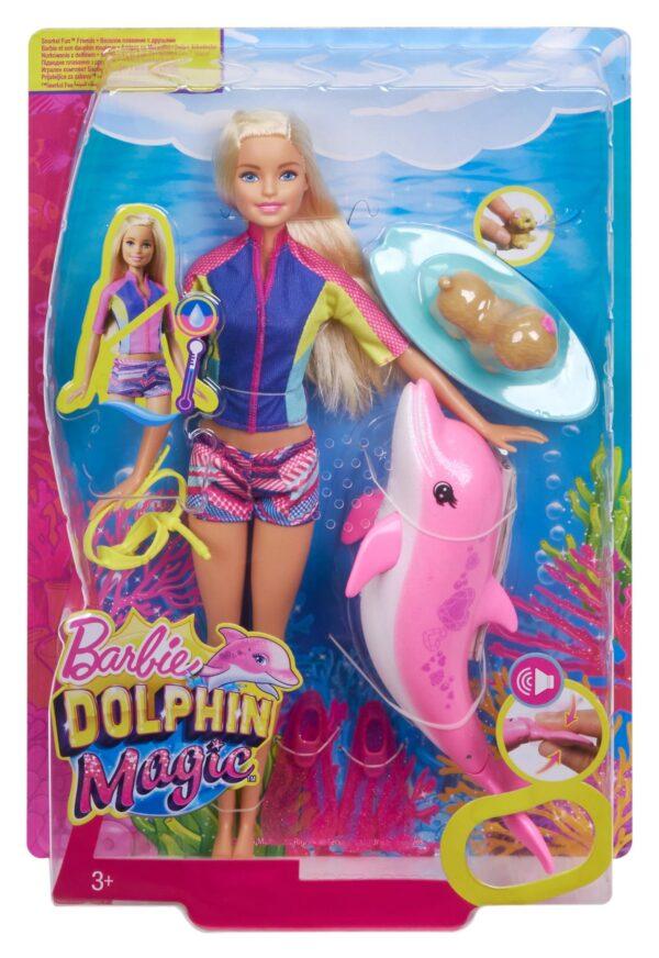 ALTRI Barbie Magia del Delfino Barbie 12-36 Mesi, 12+ Anni, 3-5 Anni, 5-8 Anni, 8-12 Anni Femmina