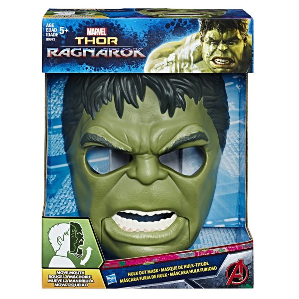 Maschera Deluxe Marvel Maschio 12+ Anni, 8-12 Anni Avengers