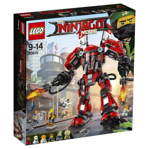 70615 - Mech di Fuoco LEGO NINJAGO Maschio 12+ Anni, 8-12 Anni ALTRI