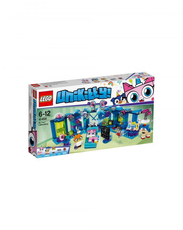 41454 - Il laboratorio della D.ssa Volpe LEGO UNIKITTY Unisex 12+ Anni, 5-8 Anni, 8-12 Anni ALTRI
