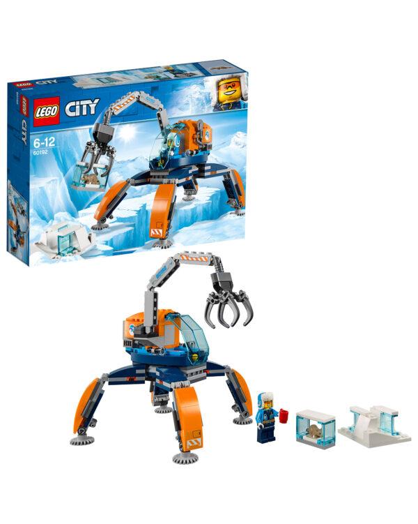 LEGO CITY ALTRI 60192 - Gru artica Unisex 12+ Anni, 5-8 Anni, 8-12 Anni