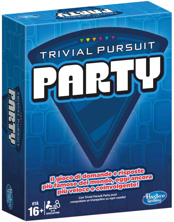 TRIVIAL PURSUIT PARTY - Hasbro Gaming - Toys Center HASBRO GAMING Unisex 12+ Anni ALTRI