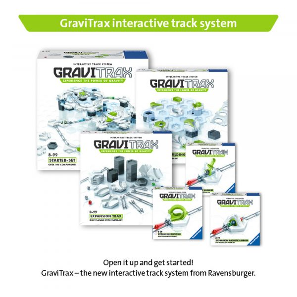 ALTRI RAVENSBURGER CLASSIC Unisex 12+ Anni, 5-8 Anni, 8-12 Anni GraviTrax Starter Kit - Gioco di società Ravensburger