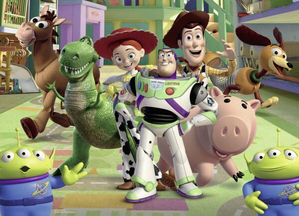 WALT DISNEY CLASSICI DISNEY - PIXAR Unisex 12+ Anni, 8-12 Anni Disney Pixar - Puzzle 4x42 pezzi Ravensburger - DISNEY - PIXAR - Linee